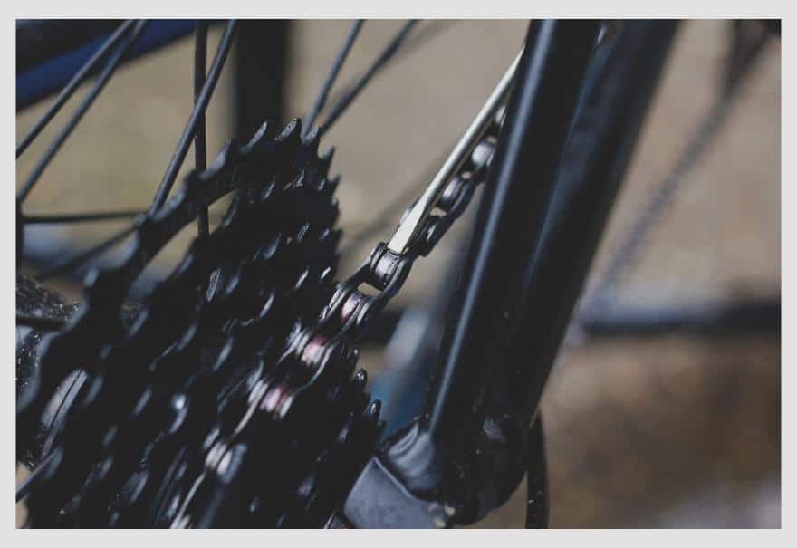 clean chain is the heart of a smooth-running bike