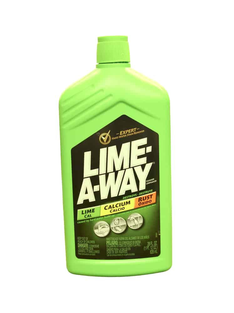 Bottle of Lime-Away Stain Remover