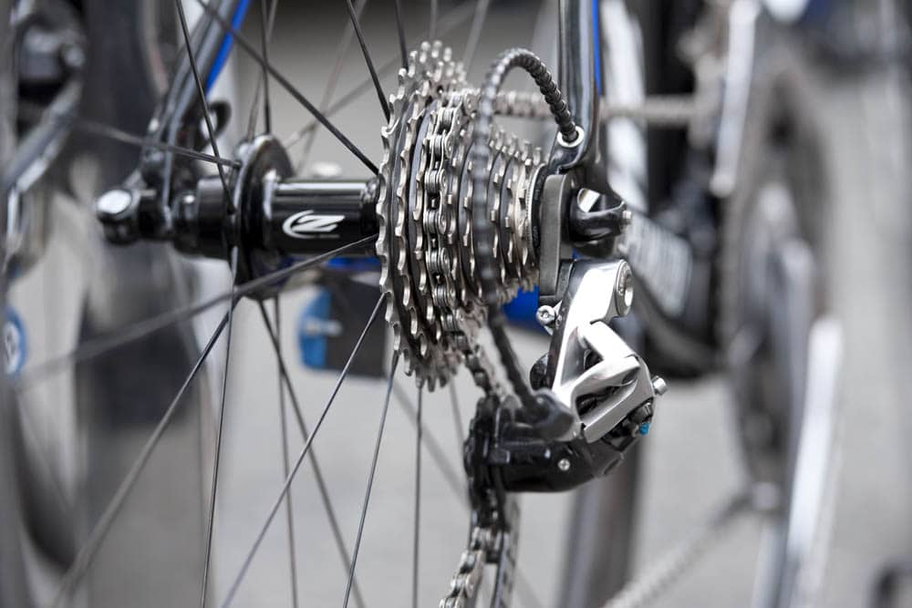 Shifting problems and cog spacing
