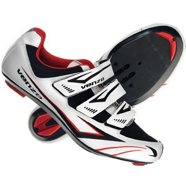 11c7be5110d The Venzo road bike shoes have an entirely different setup from the rest of  the shoes I have reviewed here so far. This is because this pair comes with  a ...